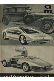 Autó-motor 1974. január-december (teljes 1-24 szám) - Régikönyvek