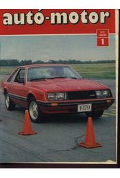 Autó-motor 1979. (hiányos) - Régikönyvek