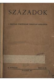 Századok 1950. 1-4. szám - Régikönyvek