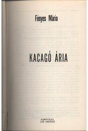 Kacagó Ária - Régikönyvek