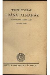 Gránátalmaház - Régikönyvek