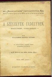 A székelyek Erdélyben - Régikönyvek