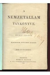 A nemzetállam tankönyve - Régikönyvek