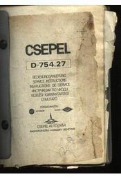 CSEPEL D-754.27 - Régikönyvek