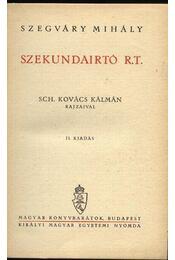 Szekundaírtó R.T. - Régikönyvek