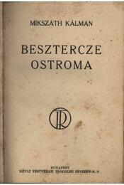 Besztercze ostroma - Régikönyvek