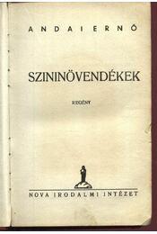 Szininövendékek - Régikönyvek