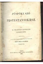 Püspöki szó a protestánsokhoz - Régikönyvek