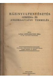 Házinyúltenyésztés - Régikönyvek