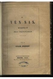 A vén sas - Régikönyvek