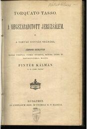 A megszabadított Jeruzsálem - Régikönyvek