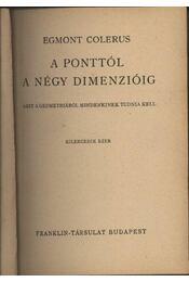 A ponttól a négy dimenzióig - Régikönyvek