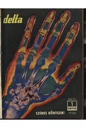 Delta 1972. évfolyam - Régikönyvek