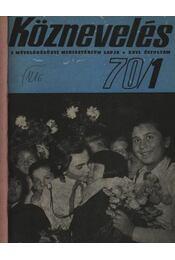 Köznevelés 1970. évfolyam (teljes) - Régikönyvek