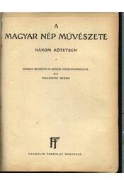 A magyar nép művészete II. - Régikönyvek