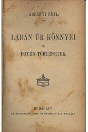 Lábán úr könnyei és egyéb történetek - Régikönyvek