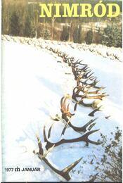 Nimród 1977. évfolyam (teljes) - számonként - Régikönyvek