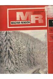 Magyar Rendőr 1978. év - Régikönyvek