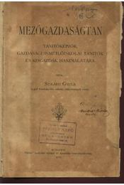 Mezőgazdaságtan - Régikönyvek