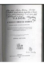Vadőr - Régikönyvek
