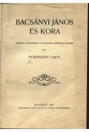 Bacsányi János és kora - Régikönyvek