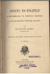 Ásvány- és földtan - Régikönyvek