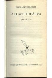 A lowoodi árva - Régikönyvek