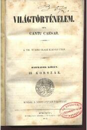 Világtörténelem III.könyv - Régikönyvek