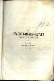 Első magyar-izraelita naptár és évkönyv - Régikönyvek