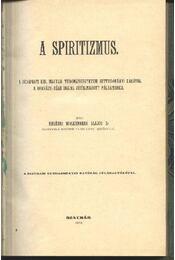 A spiritizmus - Régikönyvek