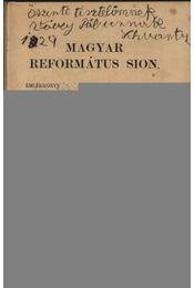 Magyar Református Sion - Régikönyvek
