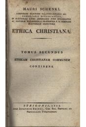 Ethica Christiana Tomus Secundus - Régikönyvek