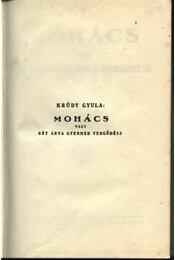 Mohács - Régikönyvek