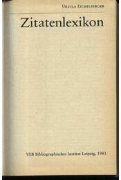 Zitatenlexikon - Régikönyvek