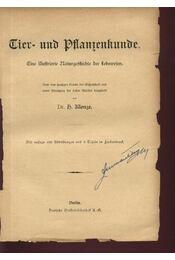 Illustrierte Tier und Pflanzenkunde - Régikönyvek