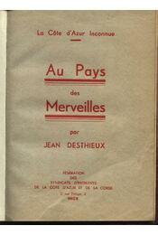 Au Pays des Merveilles - Régikönyvek