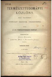 Természettudományi Közlöny 1871 - Régikönyvek