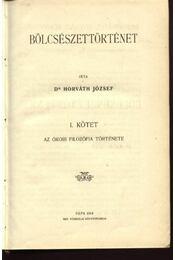 Bölcsészettörténet - Régikönyvek
