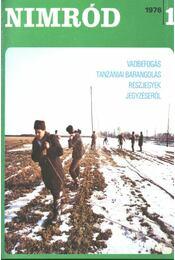 Nimród 1976. évfolyam (teljes) - egybekötve - Régikönyvek