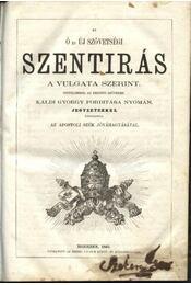 Szentírás I, III-IV. - Régikönyvek