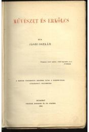 Művészet és erkölcs - Régikönyvek