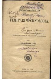 Fémipari technologia - Régikönyvek