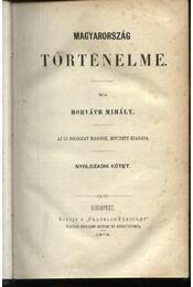 Magyarország történelme VIII. kötet - Régikönyvek