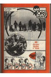 Őrsvezető 1977. évfolyam (teljes) - Régikönyvek