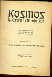 Kosmos Handweiser für Naturfreunde - Régikönyvek
