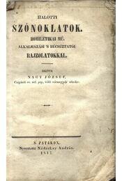 Halotti szónoklatok - Régikönyvek