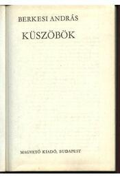 Küszöbök - Régikönyvek