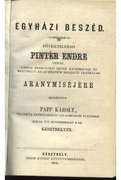 Egyházi beszéd - Régikönyvek
