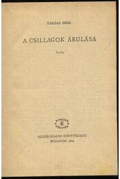 A csillagok árulása - Régikönyvek