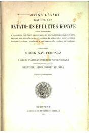 Goffine Lénárt katholikus oktató- és épületes könyve - Régikönyvek